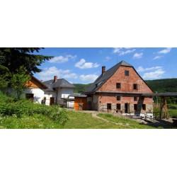 Dárkový poukaz na ubytování v historickém vodním mlýně s prohlídkou v hodnotě 550 Kč