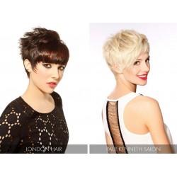 Dárkový poukaz na moderní krátký sestřih a barvu vlasů v hodnotě 900 Kč