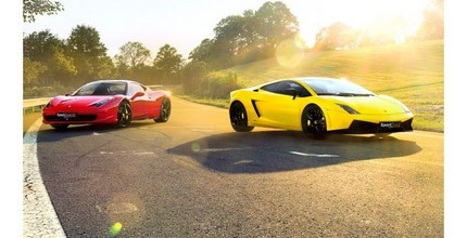 15 minut adrenalinu ve Ferrari nebo Lamborghini