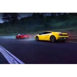 Dárkový poukaz na 40 minut adrenalinu ve Ferrari a Lamborghini - 3499 Kč