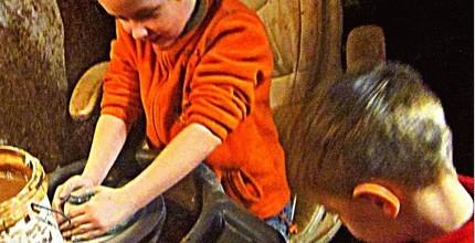 Rodinný relax v keramické dílně