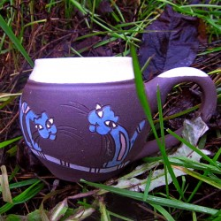Rukodělná keramika (nejen) pro kočkomily