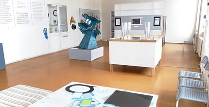 Rodinná vstupenka a malý suvenýrek z muzea
