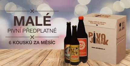Malý box piv z českých minipivovarů