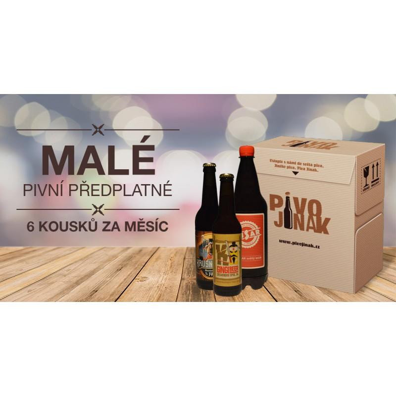 Dárkový poukaz na malý box piv z českých minipivovarů - 535Kč