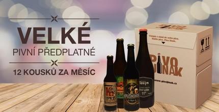 Velký box piv z českých minipivovarů