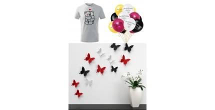 Parádní trička, dekorace a párty výzdoba z COOL HOME