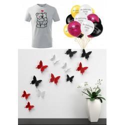 Dárkový poukaz na parádní trička, dekorace a párty výzdoba z COOL HOME v hodnotě 300 Kč