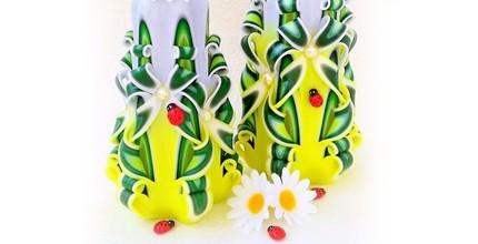 Vyřezávané a dekorační svíčky a další zboží dle výběru