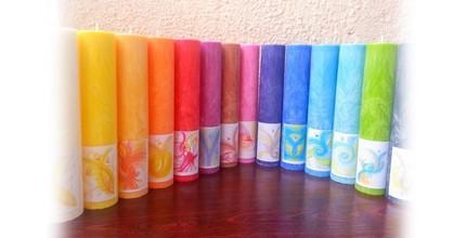 Svíčky z ráje pro duchovní harmonii