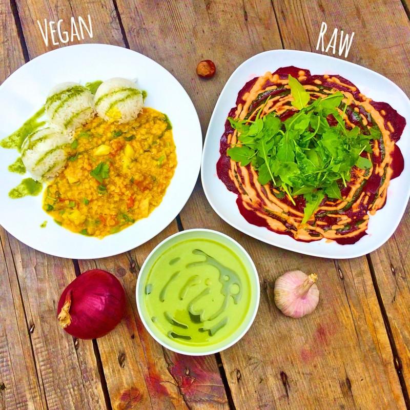 5x veganské polední menu bez výčitek