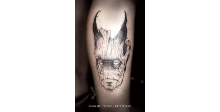 Originální tetování z Show me! Tattoo