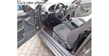 Kompletní úklid interiéru vozidla včetně tepování