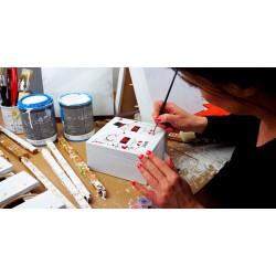 Dárkový poukaz na ručně malovaný dárek se jménem v hodnotě 500 Kč
