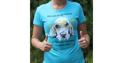 Dvě trička Psí úsměv dle vlastního výběru