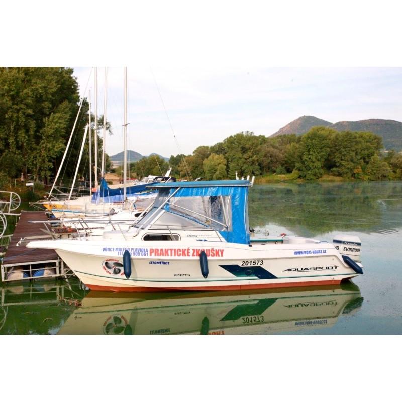 Dárkový poukaz průkaz malého plavidla v hodnotě 5 500 Kč