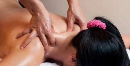 Thajská masáž zad a šíje