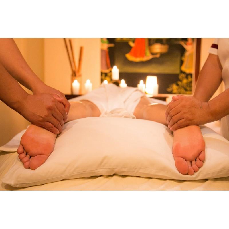 Thajská čtyřruční masáž