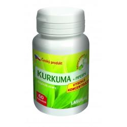 Podpořte trávení a činnost jater kurkumou a piperinem