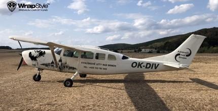 Vyhlídkový let nad Pálavou pro 1 osobu v délce 30 minut letounem CESSNA 207