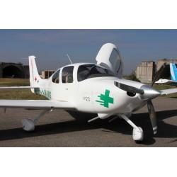 Vyhlídkový let nad Brnem pro 1 osobu v délce 60 minut luxusním letounem CIRRUS SR 20