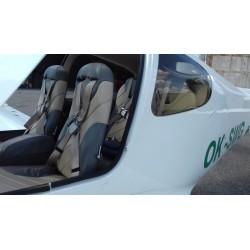 Vyhlídkový let nad Pálavou pro 1 osobu v délce 60 minut luxusním letounem CIRRUS SR 20