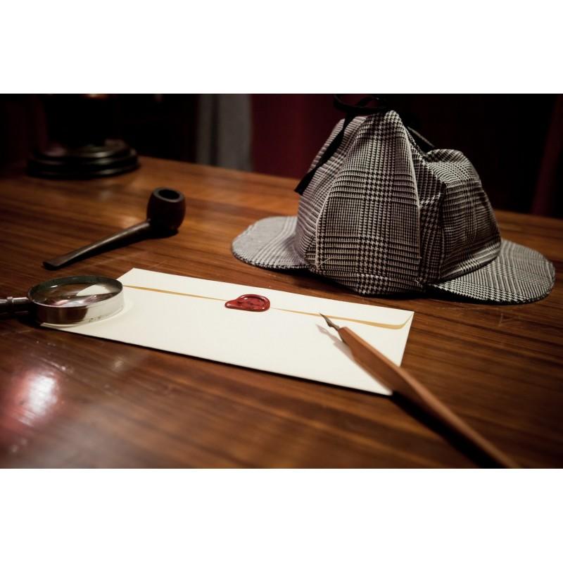 Dárkový poukaz na únikovou hru Sherlockova kancelář pro -5 hráčů v hodnotě 1 200 Kč