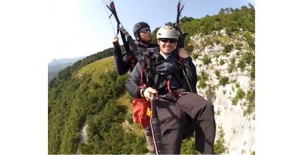 Tandem paragliding - základní let v hodnotě 1 600 Kč