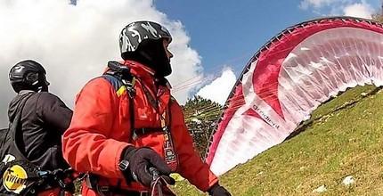 Tandem paragliding - termický let v hodnotě 2 400 Kč
