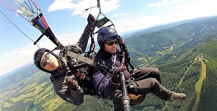 Tandem paragliding - Extra-Long termický let v hodnotě 3 000 Kč