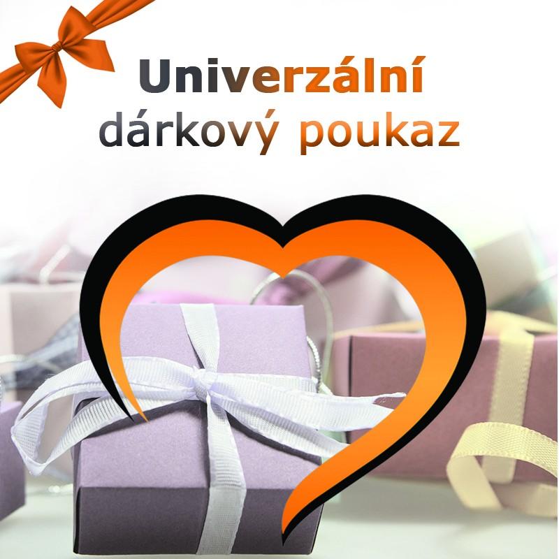 Univerzální poukaz na vše na Darujpoukaz.cz