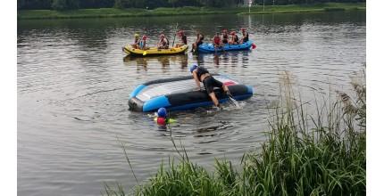 Rafting pro začátečníky včetně záchrany