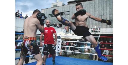 Privátní trénink karate a K1 s mistrem světa
