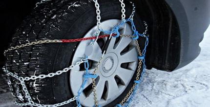 Zážitkový kurz výměny kola u auta včetně montáže řetězů