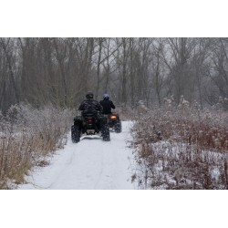 Dárkový poukaz na zážitkovou jízdu zimní 4kolkou a snow-tubingem