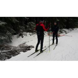 Dárkový poukaz na kurz běžeckého lyžování v Jizerkách v hodnotě 2499 Kč