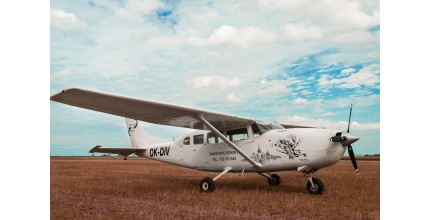 Vyhlídkový let CESSNA 207: Buchlov  - 30 min