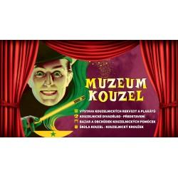 Dárkový poukaz na magickou podívanou v muzeu kouzel v hodnotě 750 Kč