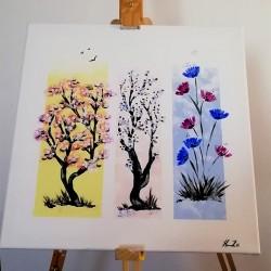 Dárkový poukaz na ručně malovaný textil a doplňky dle vlastního výběru