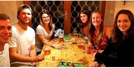 Herní noc s deskovkami pro čtyři