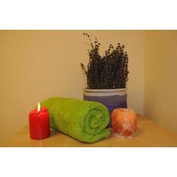 Lymfatická masáž s masáží zad a šíje se zábalem v hodnotě 750 Kč