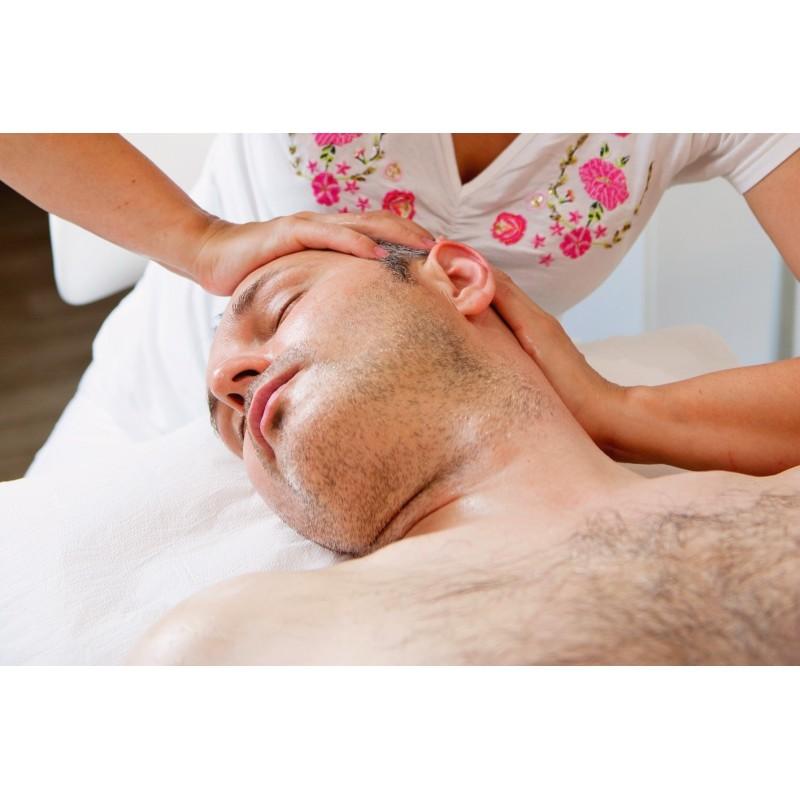 Dárkový poukaz na relaxační masáž celého těla s masáží hlavy - 1800 Kč