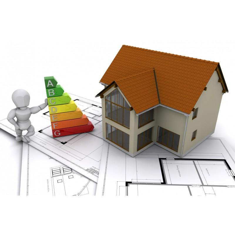 Dárkový poukaz pro energetický štítek pro dům KOMPLET - 7260 Kč