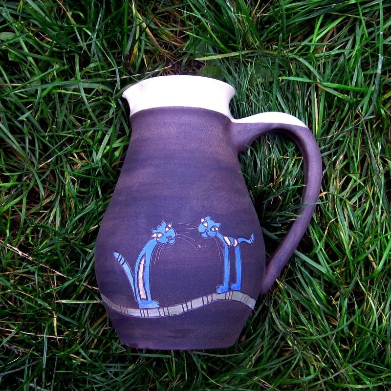 Dárkový poukaz na ukodělnou keramiku (nejen) pro kočkomily v hodnotě 2000 Kč