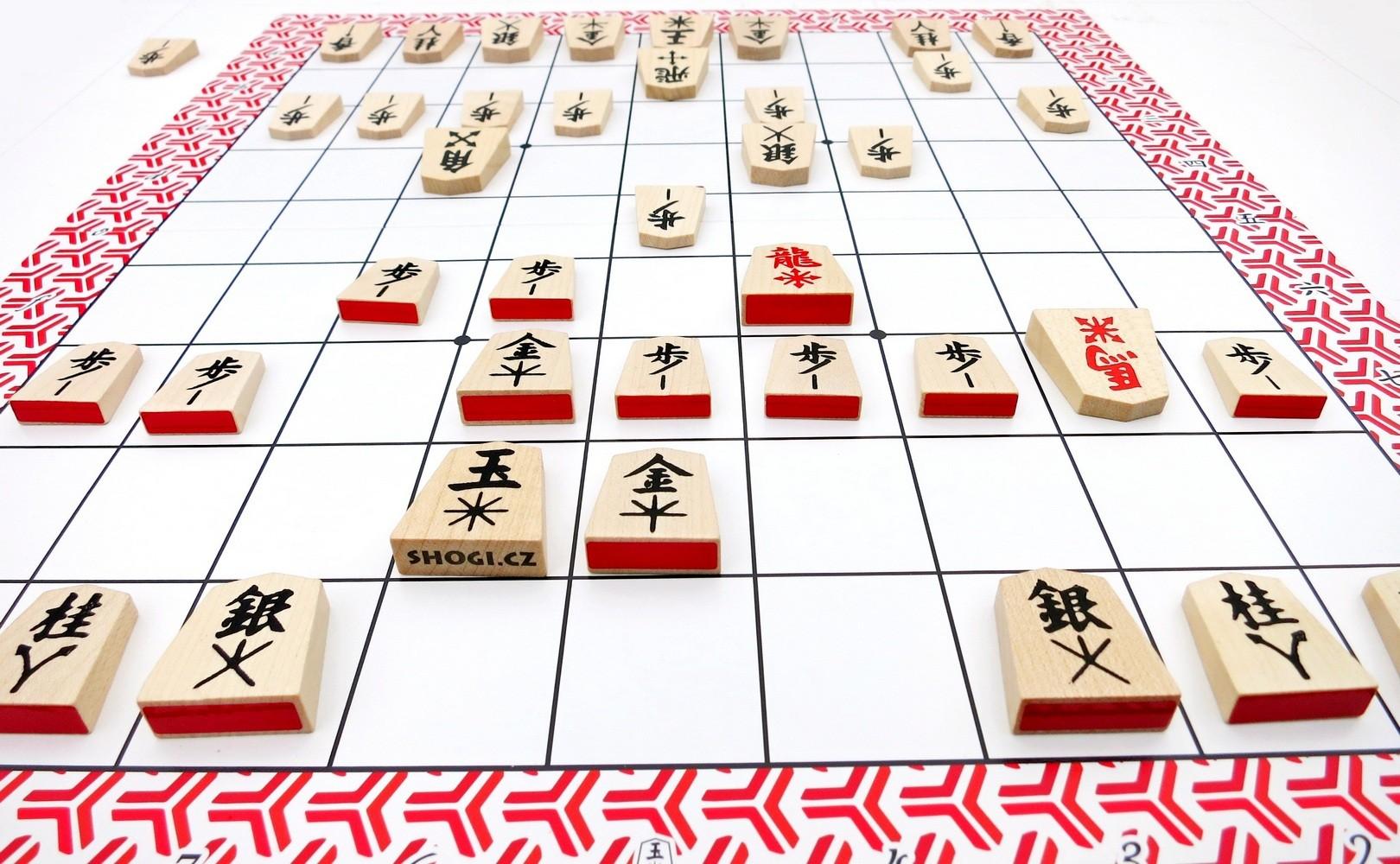 Dárkový poukaz na japonské šachy Shogi v hodnotě 1500 Kč